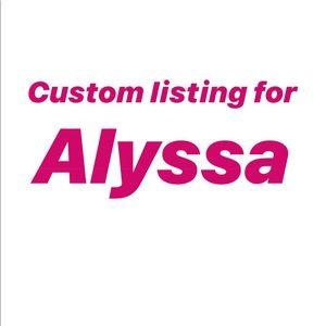 Other - Custom coaster listing